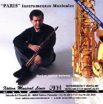 Saxos París PROMO (2.000)