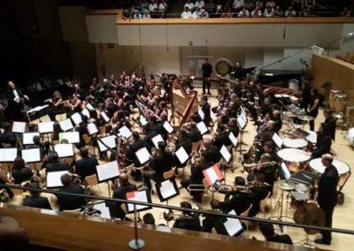 """Con la banda sinfónica de la SM """"L'Entusiasta"""" de Benifairó de la Valldigna (2016)"""