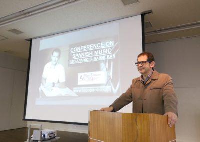 Conferencia en Japón sobre la Música Española
