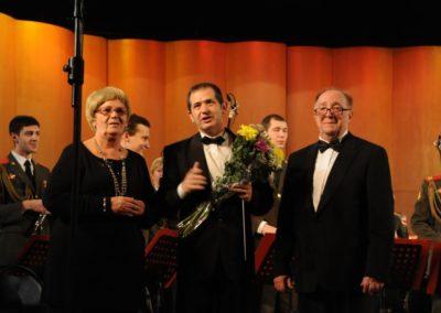 Concierto homenaje a Gennadi Chernov en su 75 cumpleaños. Banda del Ministerio de Defensa. Moscú