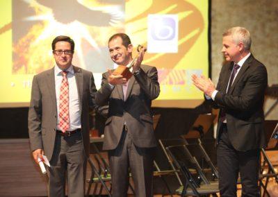 Entrega del premio Euterpe a la mejor creación sinfónica (2013).